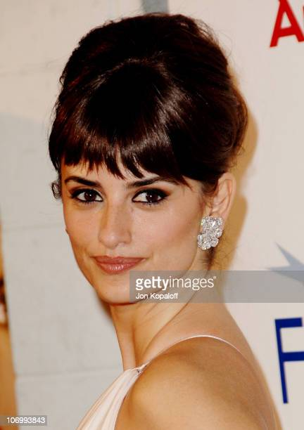 Penelope Cruz during AFI Fest 2006 Presented by Audi Hosts a Tribute to Penelope Cruz and a Presentation of 'Volver' at ArcLight Theater in Hollywood...