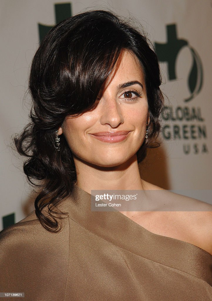 Penelope Cruz during Global Green USA 3rd Annual PreOscar Celebration to Benefit Global Warming Red Carpet at Avalon in Hollywood California United...