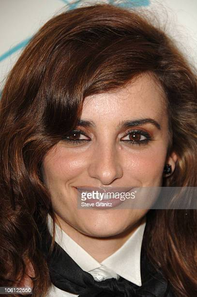 Penelope Cruz during Hollywood Film Festival 10th Annual Hollywood Awards Press Room at The Beverly Hilton Hotel in Beverly Hills California United...