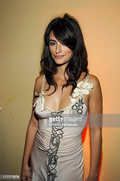 Penelope Cruz during 'Noel' New York City Premiere After Party at Chanterelle in New York City New York United States