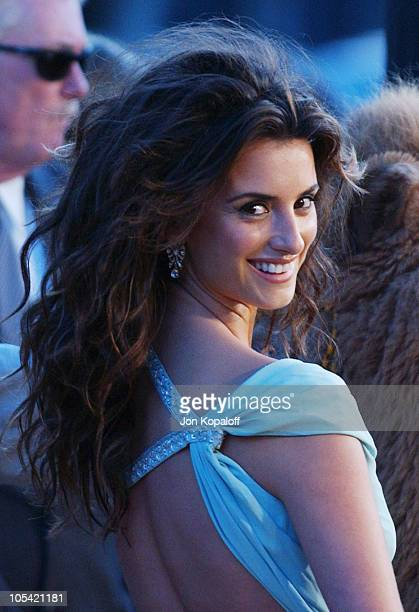 Penelope Cruz during 'Sahara' Los Angeles Premiere Arrivals at Grauman's Chinese Theater in Hollywood California United States