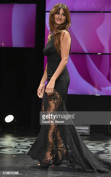 Penelope Cruz during the Lancome Celebrates 80 Years of Beauty With All Its Ambassadresses on July 7 2015 in Paris France