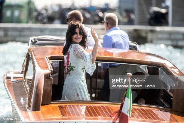 Penelope Cruz is seen during the 74th Venice Film Festival at on September 6 2017 in Venice Italy