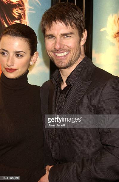 Penelope Cruz Tom Cruise 'Vanilla Sky' Premiere At The Empire Leicester Square Party At The Dorchester Hotel London