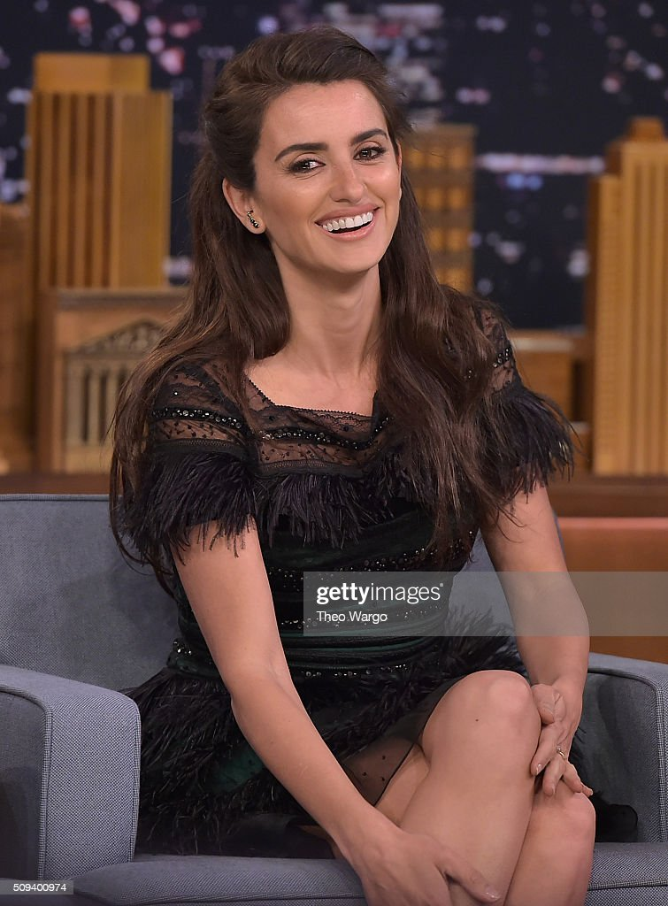 "Penelope Cruz Visits ""The Tonight Show Starring Jimmy Fallon"""