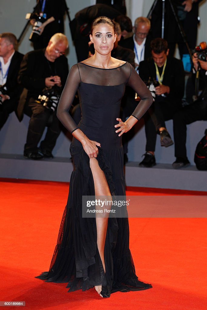 Penelope Landini attends the premiere of 'The Bleeder' during the 73rd Venice Film Festival at Sala Grande on September 2, 2016 in Venice, Italy.