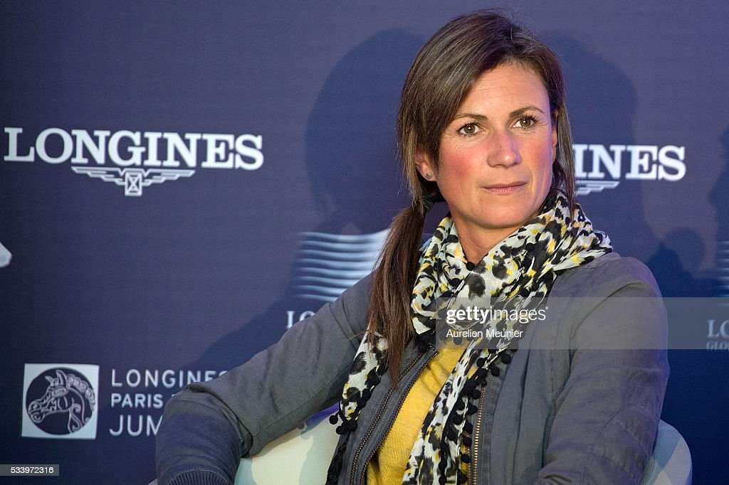 Penelope Leprevost attends the 3rd Longines Paris Eiffel Jumping press conference on May 24, 2016 in Paris, France.