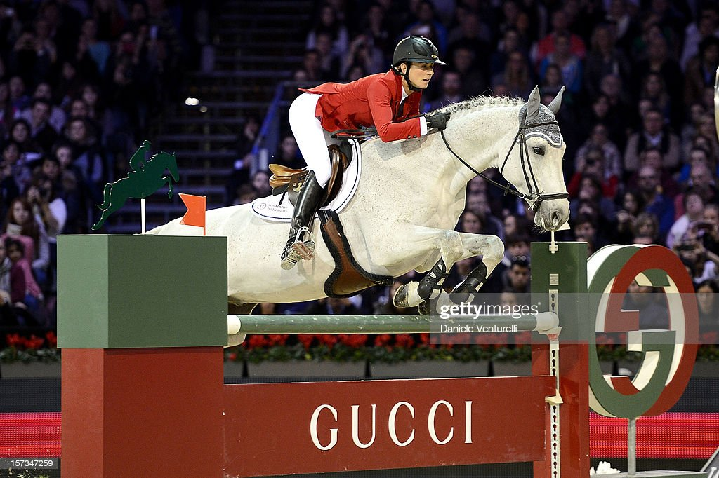 <a gi-track='captionPersonalityLinkClicked' href=/galleries/search?phrase=Penelope+Leprevost&family=editorial&specificpeople=5534219 ng-click='$event.stopPropagation()'>Penelope Leprevost</a> attends the Gucci Paris Masters 2012 at Paris Nord Villepinte on December 2, 2012 in Paris, France.