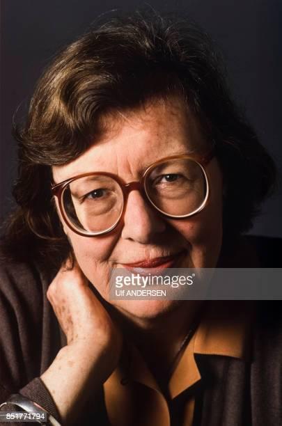 Penelope Lively écrivain britannique le 18 février 1992 à Paris France