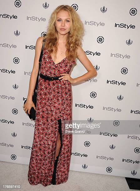 Penelope Mitchell arrives at the 13th Annual InStyle Summer Soiree at Mondrian Los Angeles on August 14 2013 in West Hollywood California