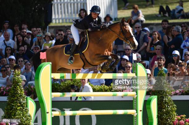 Penelope of France riding Nice Stephanie during the Piazza di Siena Bank Intesa Sanpaolo in the Villa Borghese on May 27 2017 in Rome Italy