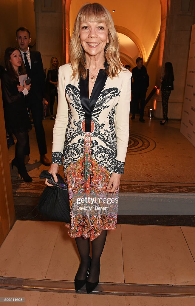 <a gi-track='captionPersonalityLinkClicked' href=/galleries/search?phrase=Penelope+Tree&family=editorial&specificpeople=878553 ng-click='$event.stopPropagation()'>Penelope Tree</a> attends a private view of 'Vogue 100: A Century of Style' hosted by Alexandra Shulman and Leon Max at the National Portrait Gallery on February 9, 2016 in London, England.