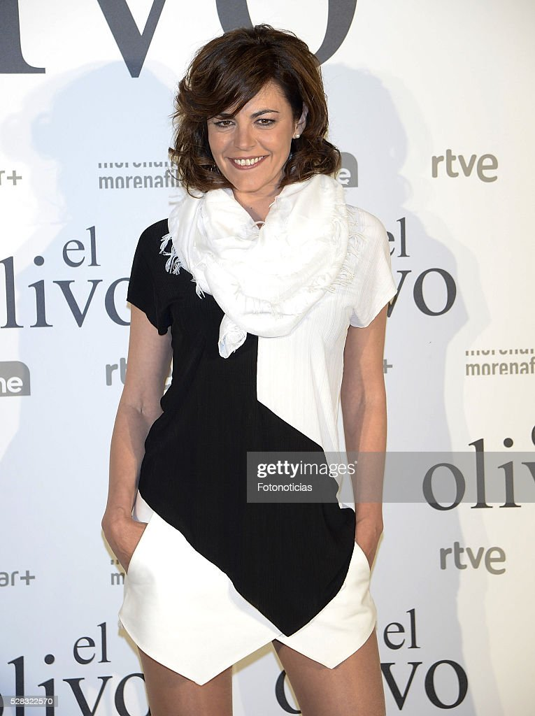 Penelope Velasco attends the premiere of 'El Olivo' at the Capitol cinema on May 4, 2016 in Madrid, Spain.