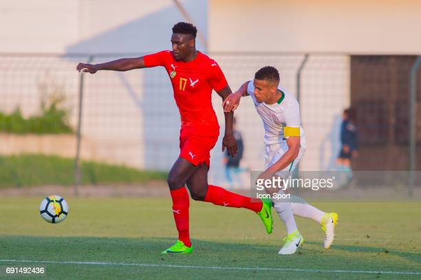 Peniel Kokou Mlapa of Togo during the soccer friendly match between Nigeria and Togo on June 1 2017 in St LeulaForet France