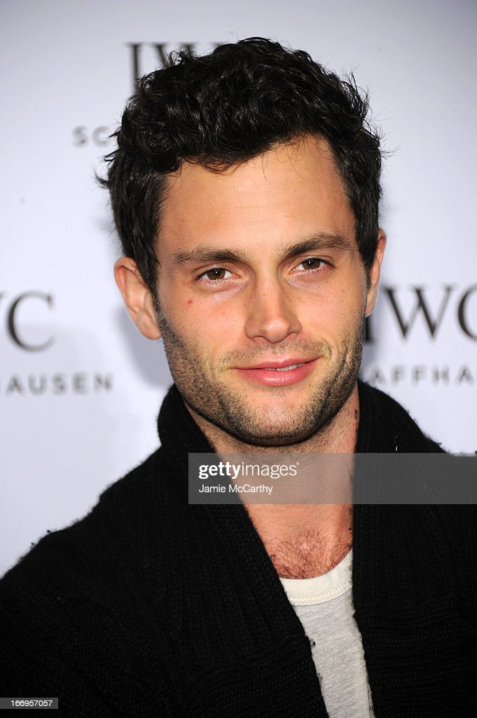 <a gi-track='captionPersonalityLinkClicked' href=/galleries/search?phrase=Penn+Badgley&family=editorial&specificpeople=544488 ng-click='$event.stopPropagation()'>Penn Badgley</a> attends IWC and Tribeca Film Festival Celebrate 'For the Love of Cinema' on April 18, 2013 in New York City.