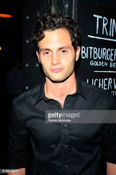 Penn Badgley attends The Target Kaleidoscopic Fashion Spectacular Lights up New York City at The Standard on August 18 2010 in New York City