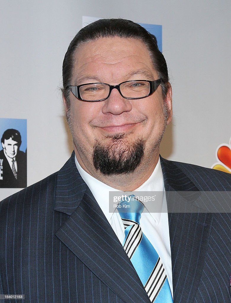 <a gi-track='captionPersonalityLinkClicked' href=/galleries/search?phrase=Penn+Jillette&family=editorial&specificpeople=547802 ng-click='$event.stopPropagation()'>Penn Jillette</a> attends the 'Celebrity Apprentice All Stars' Season 13 Press Conference at Jack Studios on October 12, 2012 in New York City.