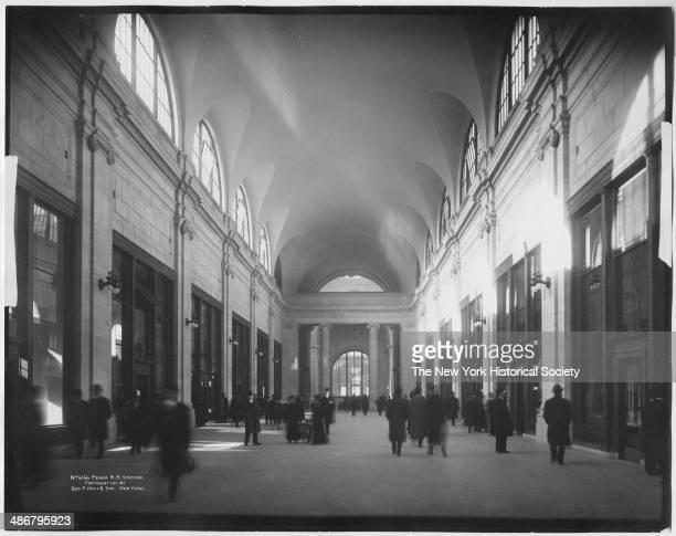 Penn Station arcade New York New York 1911