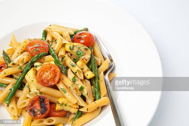Penne à la tomate cerise & Asperge