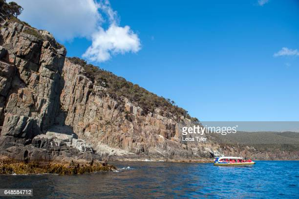 Pennicott Wilderness Journey's cruise off the Tasman Peninsula in Tasmania Home to the penal colony site of Port Arthur the Peninsula is a popular...