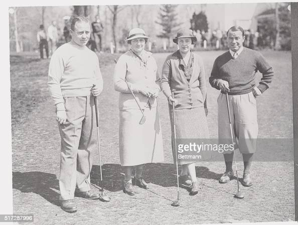 FourStar Golf Foursome Big names in golfdom are represented in this foursome snapped on the course of the Merion Cricket Club Ardmore Pa April 23rd...