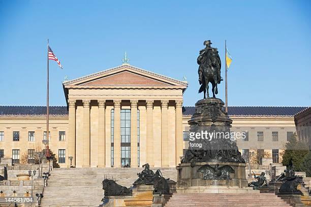 USA, Pennsylvania, Philadelphia, Philadelphia Museum Of Art facade