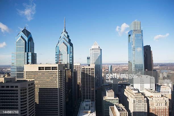 USA, Pennsylvania, Philadelphia, skyscrapers