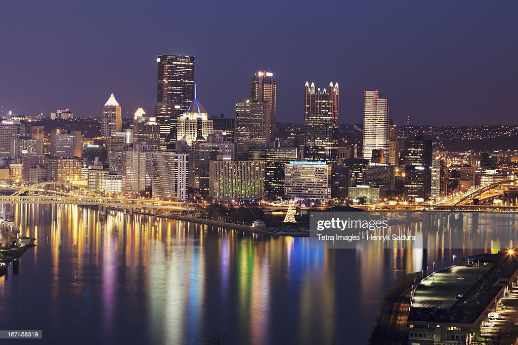 USA, Pennsylvania, Pittsburgh, Cityscape : Stock Photo