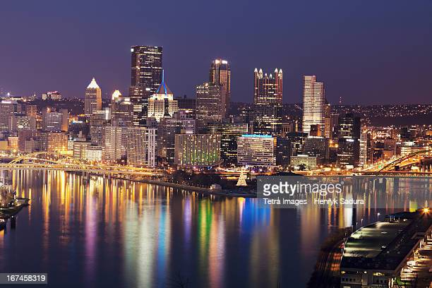 USA, Pennsylvania, Pittsburgh, Cityscape