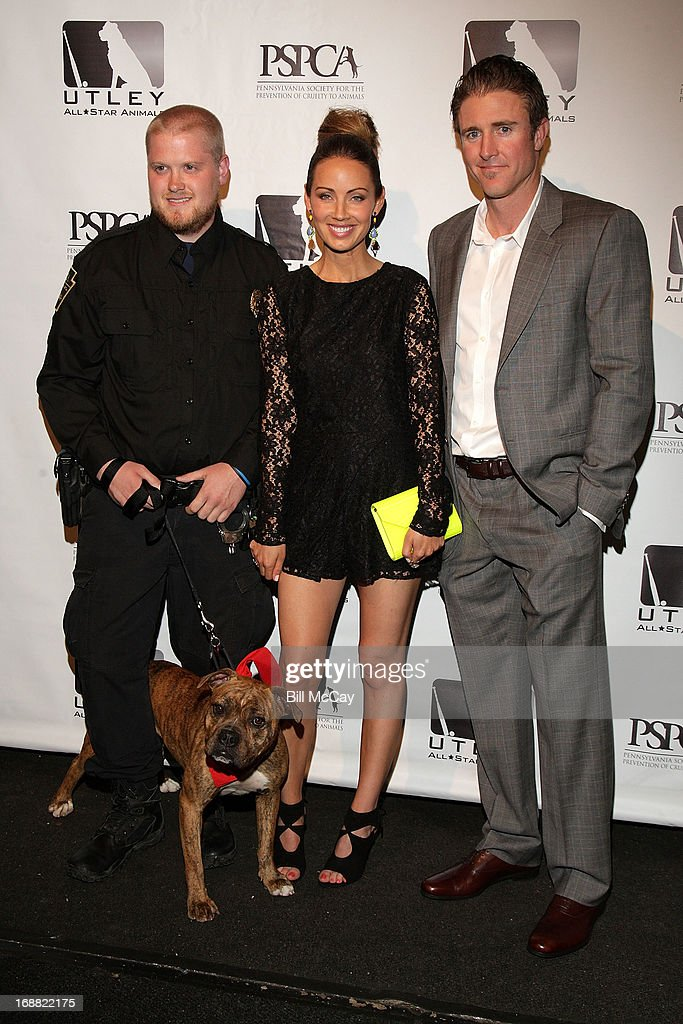 Pennsylvania SPCA Officer, Jennifer Utley and Chase Utley attend the 6th Annual Utley All-Star Animals Casino Night to benefit the Pennsylvania SPCA at The Electric Factory May 15, 2013 in Philadelphia, Pennsylvania.