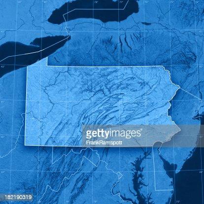 Pennsylvania Topographic Map