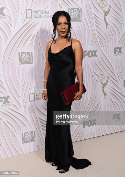 Penny Johnson attends FOX Broadcasting Company Twentieth Century Fox Television FX And National Geographic 69th Primetime Emmy Awards After Party at...