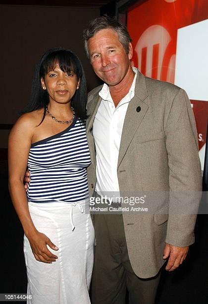 Penny Johnson Jerald and Timothy Bottoms of 'DC 9/11' at the 2003 Showtime TCA Presentation