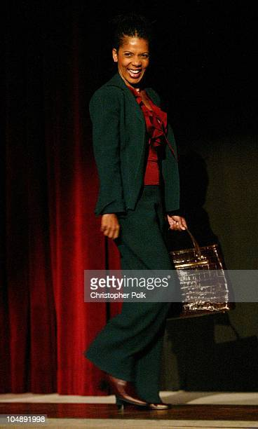 Penny Johnson Jerald during ATAS Hosts a StarStudded Fashion Show to Benefit Dress for Success at ATAS' Leonard H Goldenson Theatre in North...