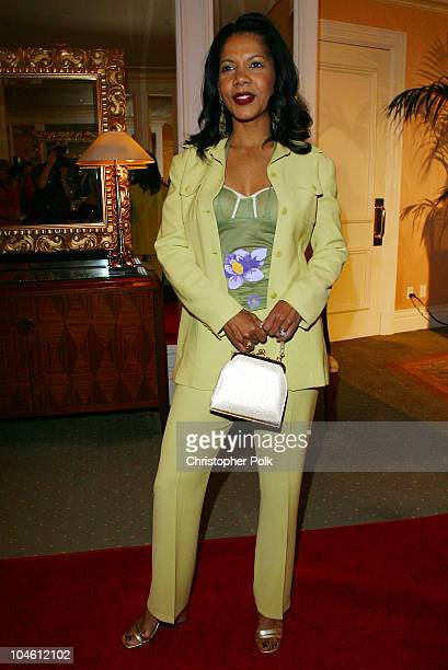 Penny Johnson Jerald during InStyle Sneak Peek at Red Carpet Fashion for the 2003 Awards Season at Beverly Hills Hotel in Beverly Hills CA United...