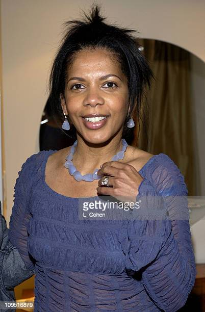 Penny Johnson Jerald wearing a Cara Ucci Necklace during Sunset Marquis Oasis Hosted by Peoples Revolution Day One at Sunset Marquis Hotel and Villas...