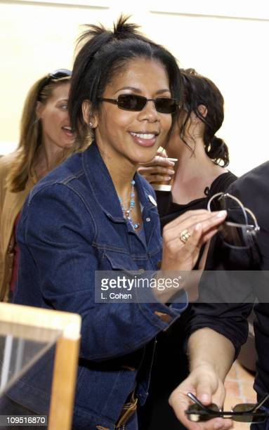 Penny Johnson Jerald wearing Persol Sunglasses during Sunset Marquis Oasis Hosted by Peoples Revolution Day One at Sunset Marquis Hotel and Villas in...