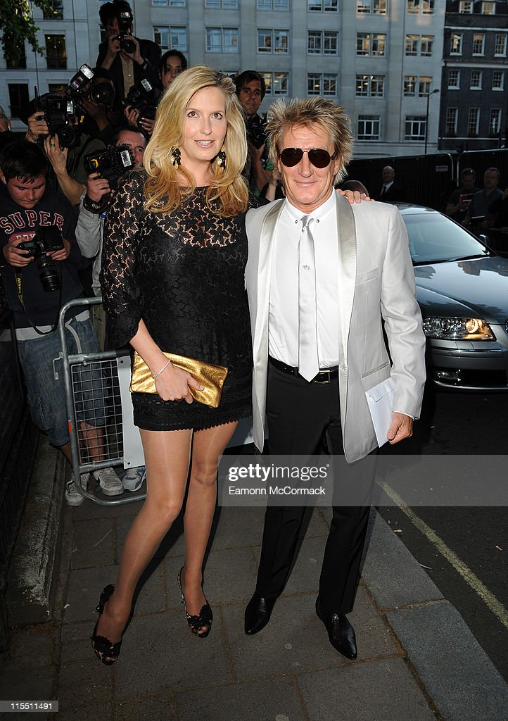 Penny Lancaster and Rod Stewart attend Glamour Women Of The Year Awards at Berkeley Square Gardens on June 7, 2011 in London, England.