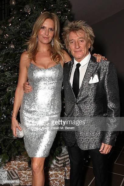 Penny Lancaster and Rod Stewart attend the GOSH Gala in aid of Great Ormond Street Hospital Children's Charity at The Rosewood Hotel on December 3...