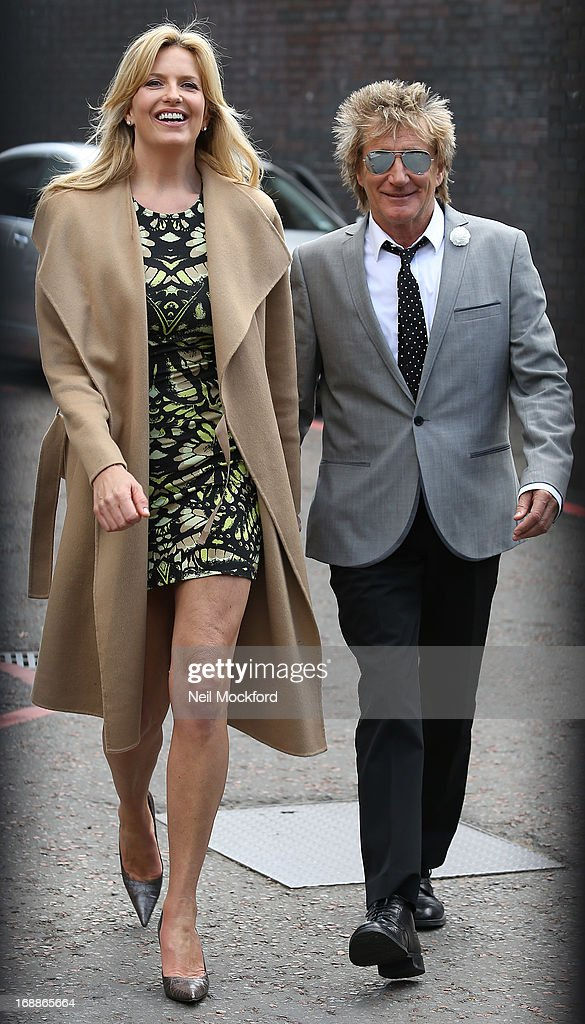 <a gi-track='captionPersonalityLinkClicked' href=/galleries/search?phrase=Penny+Lancaster&family=editorial&specificpeople=202837 ng-click='$event.stopPropagation()'>Penny Lancaster</a> and <a gi-track='captionPersonalityLinkClicked' href=/galleries/search?phrase=Rod+Stewart&family=editorial&specificpeople=160467 ng-click='$event.stopPropagation()'>Rod Stewart</a> (R) seen leaving the ITV Studios on May 16, 2013 in London, England.
