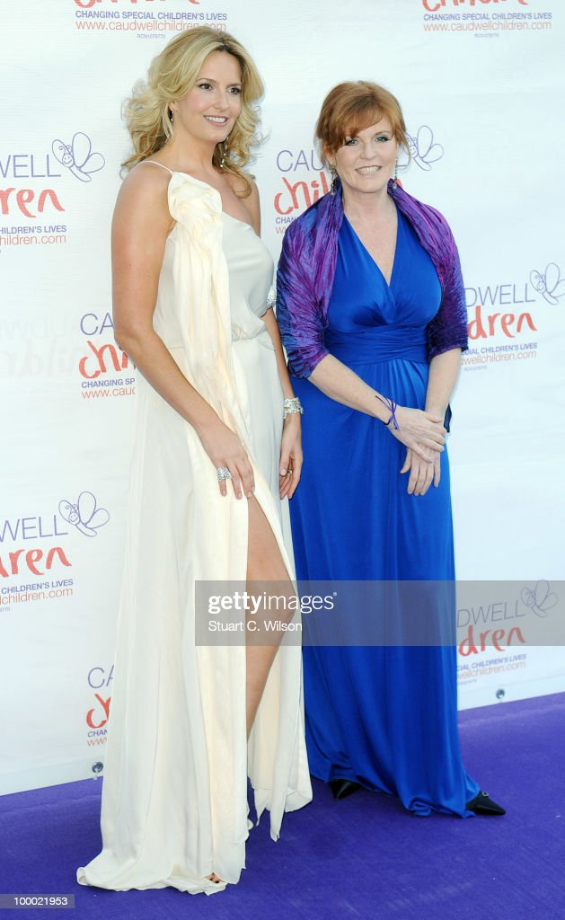 Penny Lancaster and Sarah Furguson, Duchess of York attend The Caudwell Children Butterfly Ball at Battersea Evolution on May 20, 2010 in London, England.