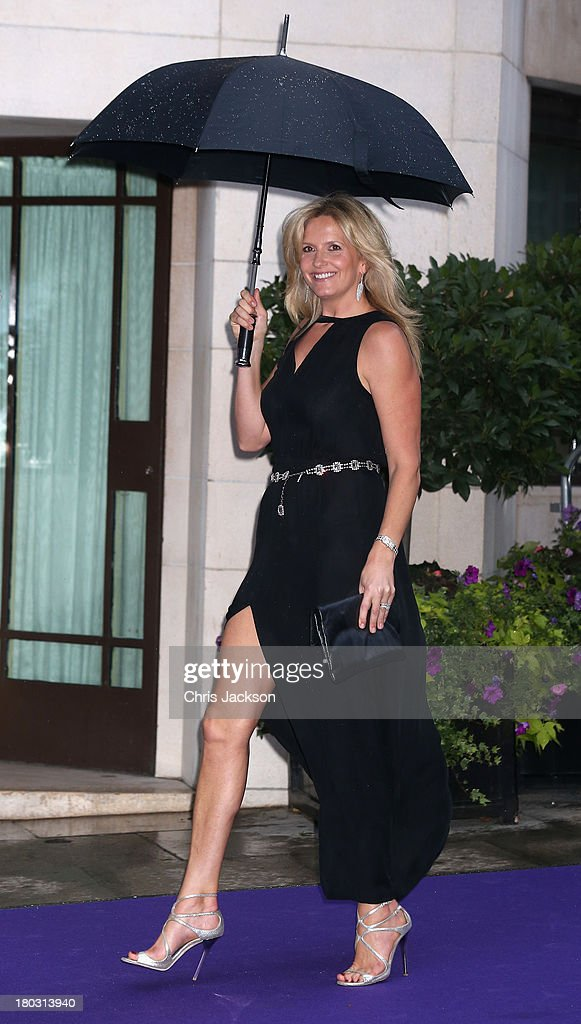 Penny Lancaster arrives at the WellChild Awards at The Dorchester on September 11, 2013 in London, England.