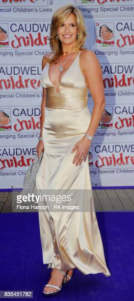 Penny Lancaster arrives for the Butterfly Ball in Battersea Park London The event by Caudwell Children aims to raise funds for disabled children