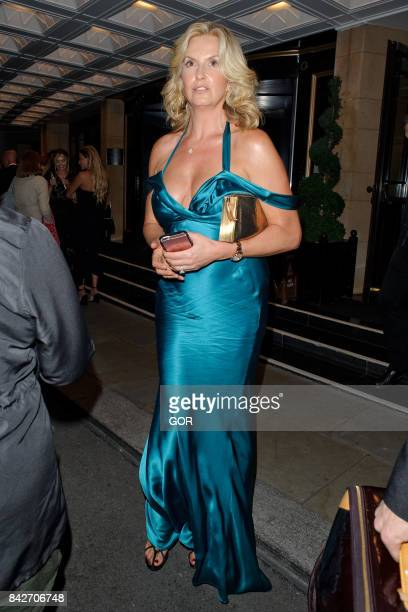 Penny Lancaster at the TV Choice awards at the Dorchester hotel on September 4 2017 in London England