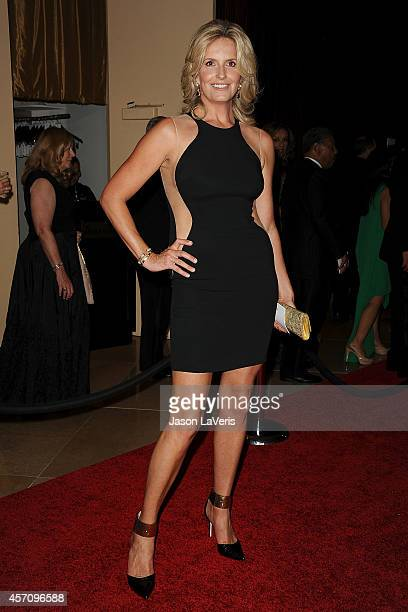 Penny Lancaster attends the 2014 Carousel of Hope Ball at The Beverly Hilton Hotel on October 11 2014 in Beverly Hills California