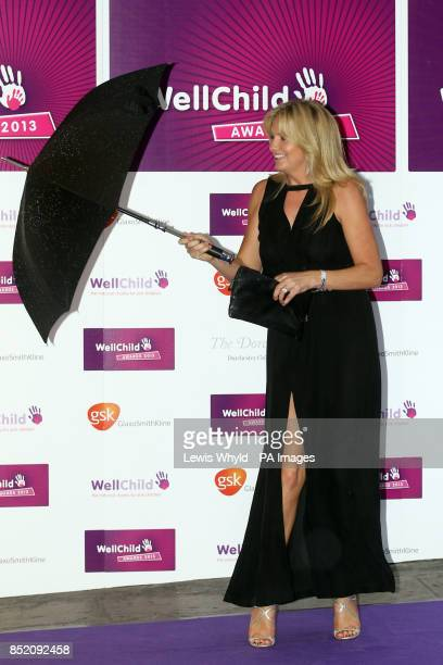 Penny Lancaster attends the annual WellChild Awards Ceremony at the Dorchester Hotel in London