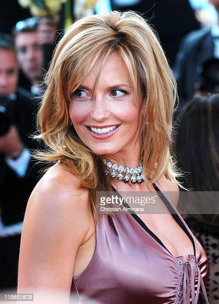 Penny Lancaster during 2004 Cannes Film Festival 'Shrek 2' Premiere at Palais Du Festival in Cannes France