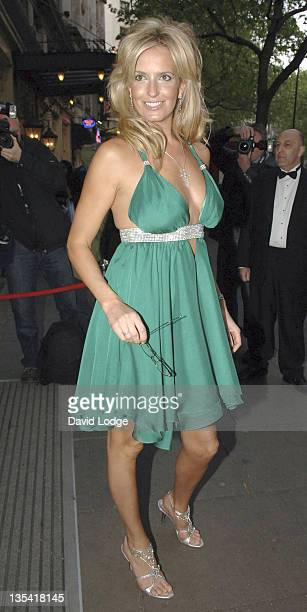Penny Lancaster during Specsavers Sexy Specs 2005 Grand Final in London Great Britain