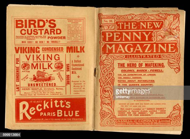 Penny Magazine with advertisements, 1899