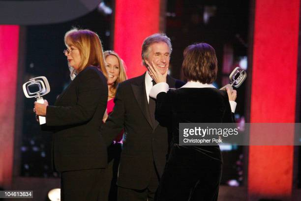Penny Marshall Henry Winkler and Cindy Williams during The TV Land Awards Celebration of Classic TV at Hollywood Palladium in Hollywood CA United...
